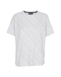 The T-shirt, med tekst print