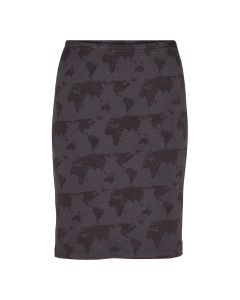 Nederdel i lyocell med print