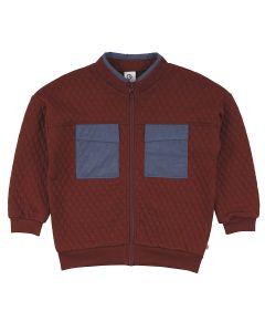 QUILT jakke / cardigan med lommer