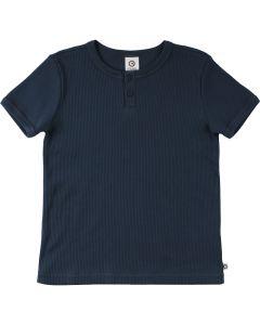 COZY RIB T-shirt med knapper