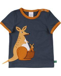 HALLO T-shirt med kænguru broderi