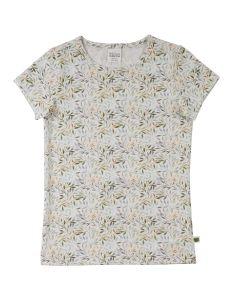LEAF T-shirt med print af blade