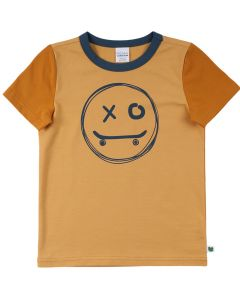 SKATE T-shirt med smiley på fronten