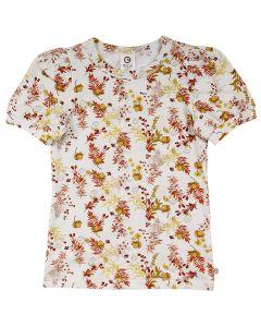 CALENDULA T-shirt med pufærmer
