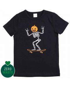 SKELETON T-shirt med skater-skelet
