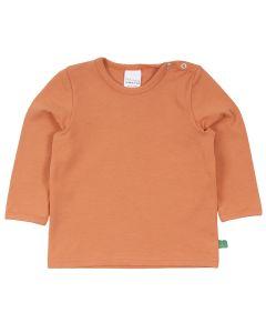 ALFA ensfarvet T-shirt - BABY