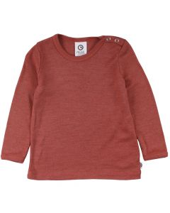 WOOLLY SILK T-shirt økologisk uld/silke -BABY