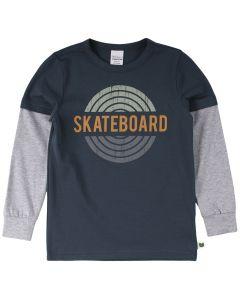 SKATE T-shirt med print