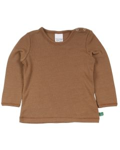 WOOL bluse i uld
