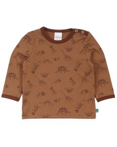 DINO langærmet T-shirt med print -BABY