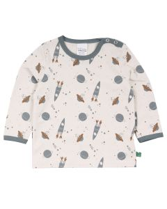ASTRO bluse med rum-tema -BABY