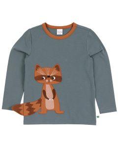 HELLO raccoon bluse