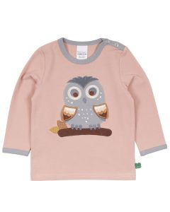HELLO owl bluse med ugle -BABY