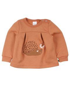 HEDGEHOG sweat-trøje med pindsvin