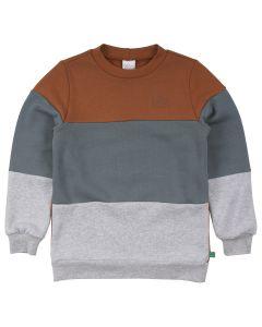 SWEAT-trøje med blokfarver