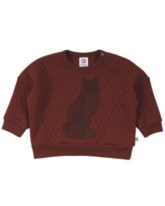 FOX quiltet sweat-trøje -BABY