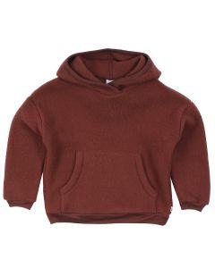 WOOLLY hoodie i merino uld fleece