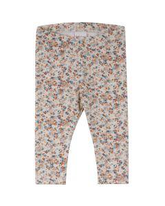 MINI leggings med blomsterprint- BABY
