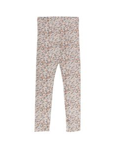 MINI leggings med blomsterprint
