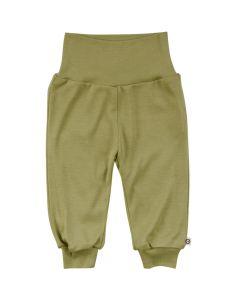 WOOLLY SILK bukser i blød uld/silke