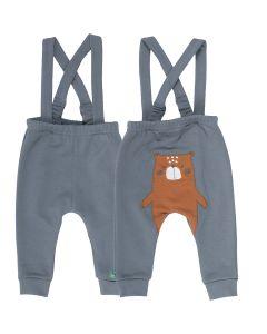 BEAR  sele-bukser med bjørn på bagen.