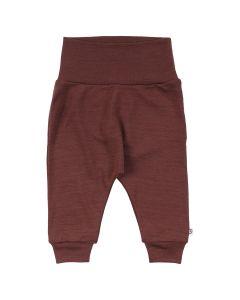 WOOLLY uld bukser i merinould