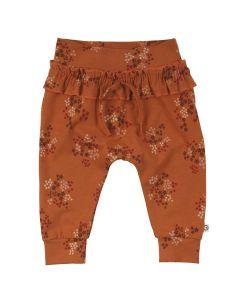 FLORA bukser med flæsekant