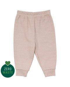 CROSS Jacquard bukser i uld/bomuld