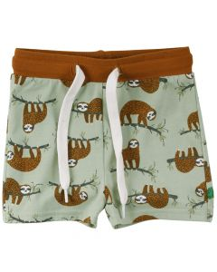SLOTH shorts med print -BABY