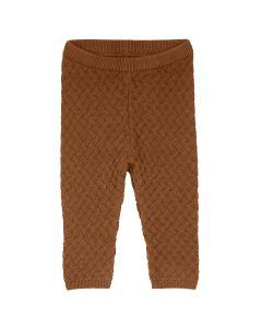 KNIT WEAVE strik bukser -BABY