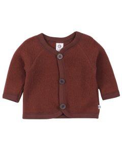 WOOLLY jakke i merino-uld fleece
