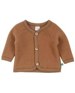 WOOL jakke i merino-uld fleece