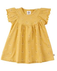 SUNDBED kjole med print af solsenge