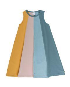 ALFA regnbue kjole uden ærmer