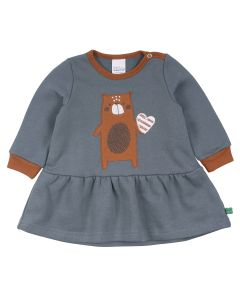 BEAR sweat kjole -BABY