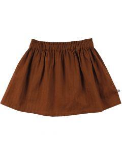 WOVEN nederdel i 100 % bomuld