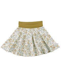 BOTANY nederdel med blomster