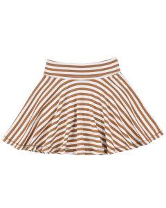 STRIPE nederdel i økologisk bomuld