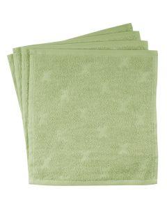Vaskeklude 4-pak i økologisk bomuld