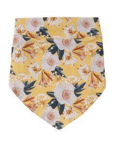 BLOOM hoved tørklæde med blomsterprint