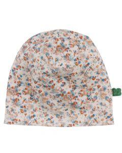 MINI hat med blomsterprint