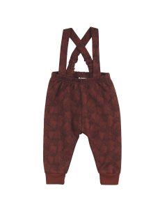 FOX sele-bukser med print