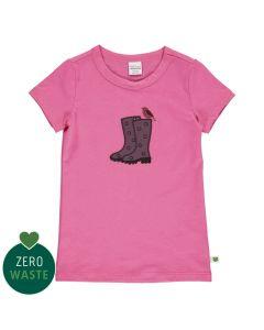 T-shirt med gummistøvler